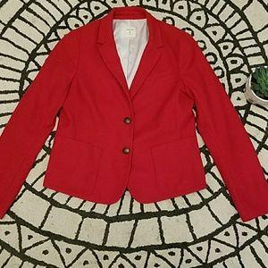 Gap Red Blazer
